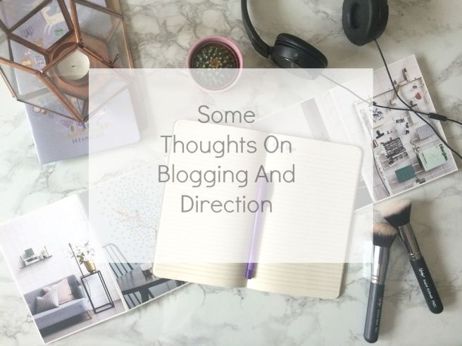 blogging thoughts