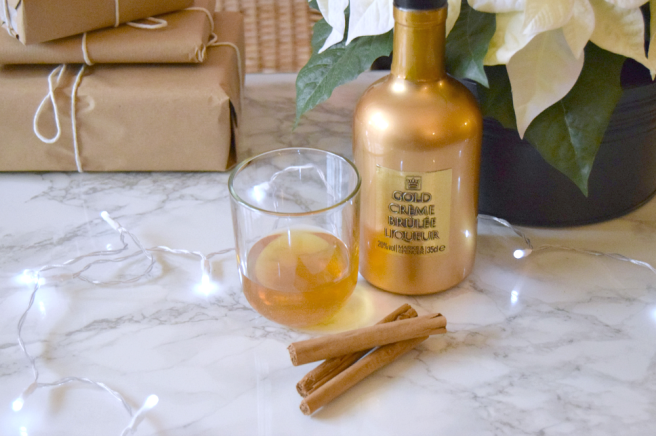 Marks and Spencer Gold Creme Brulee Liqueur